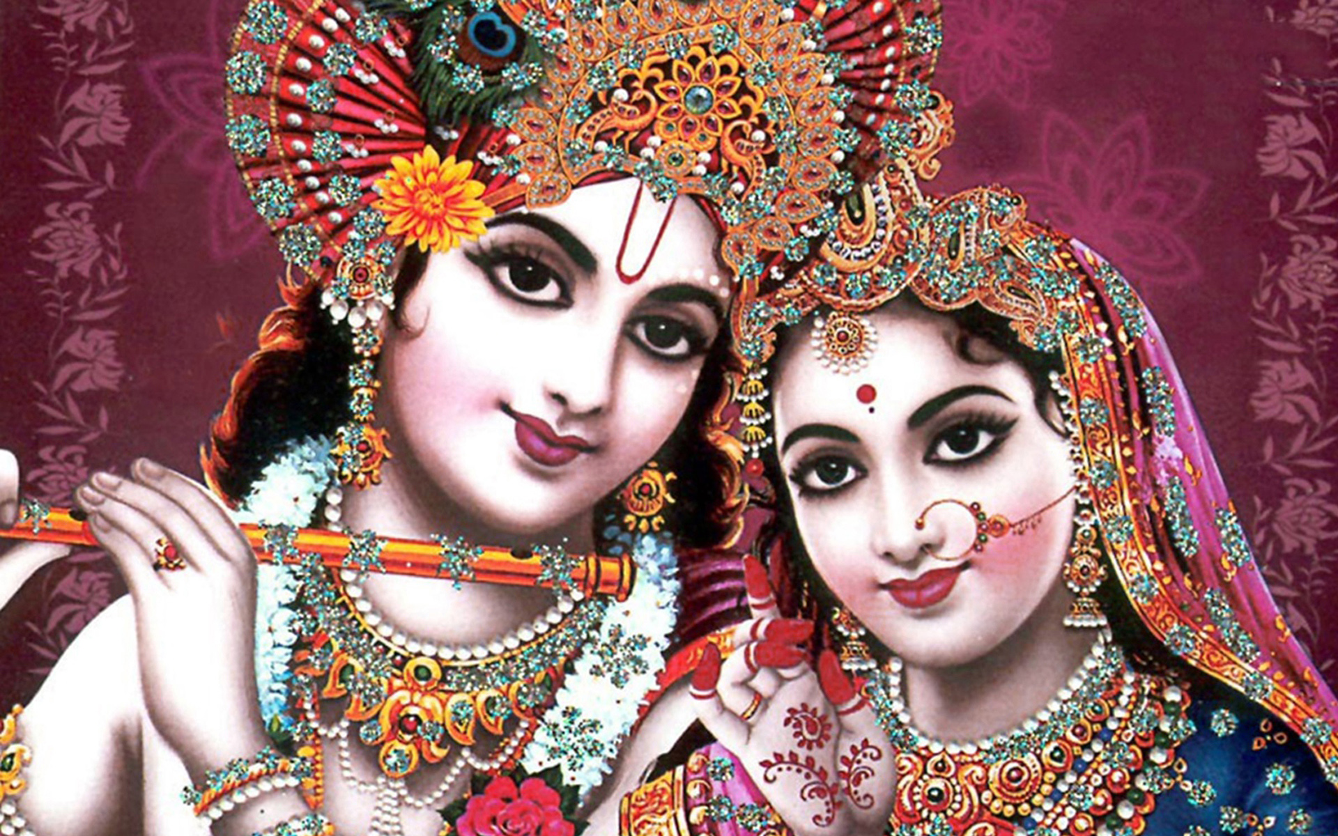 Indian God Radha Krishna Wallpapers HD Wallpapers 1920x1200