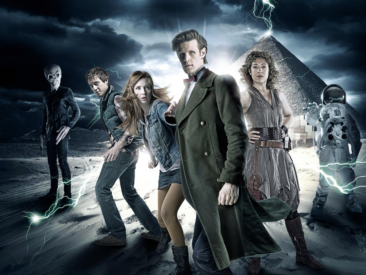 doctor who river song alex kingston rory williams Art HD Wallpaper 1280x960