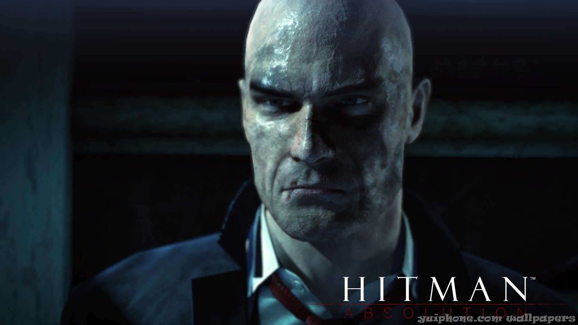 hitman after burning hotel close up hitman absolution wallpapers 1080p 1920x1080