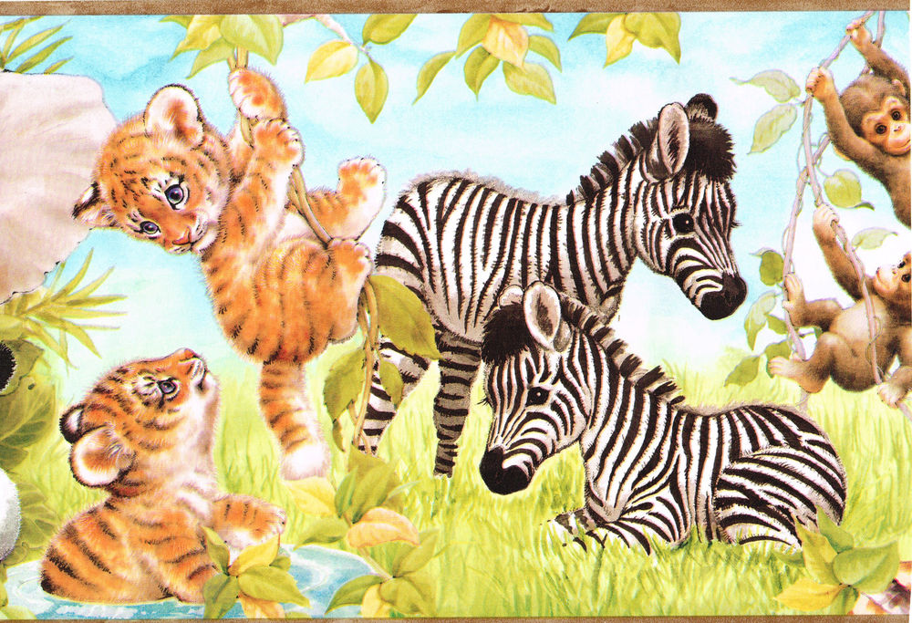 Wild Animal Wallpapers Wild Animal Wallpaper Border 1000x683