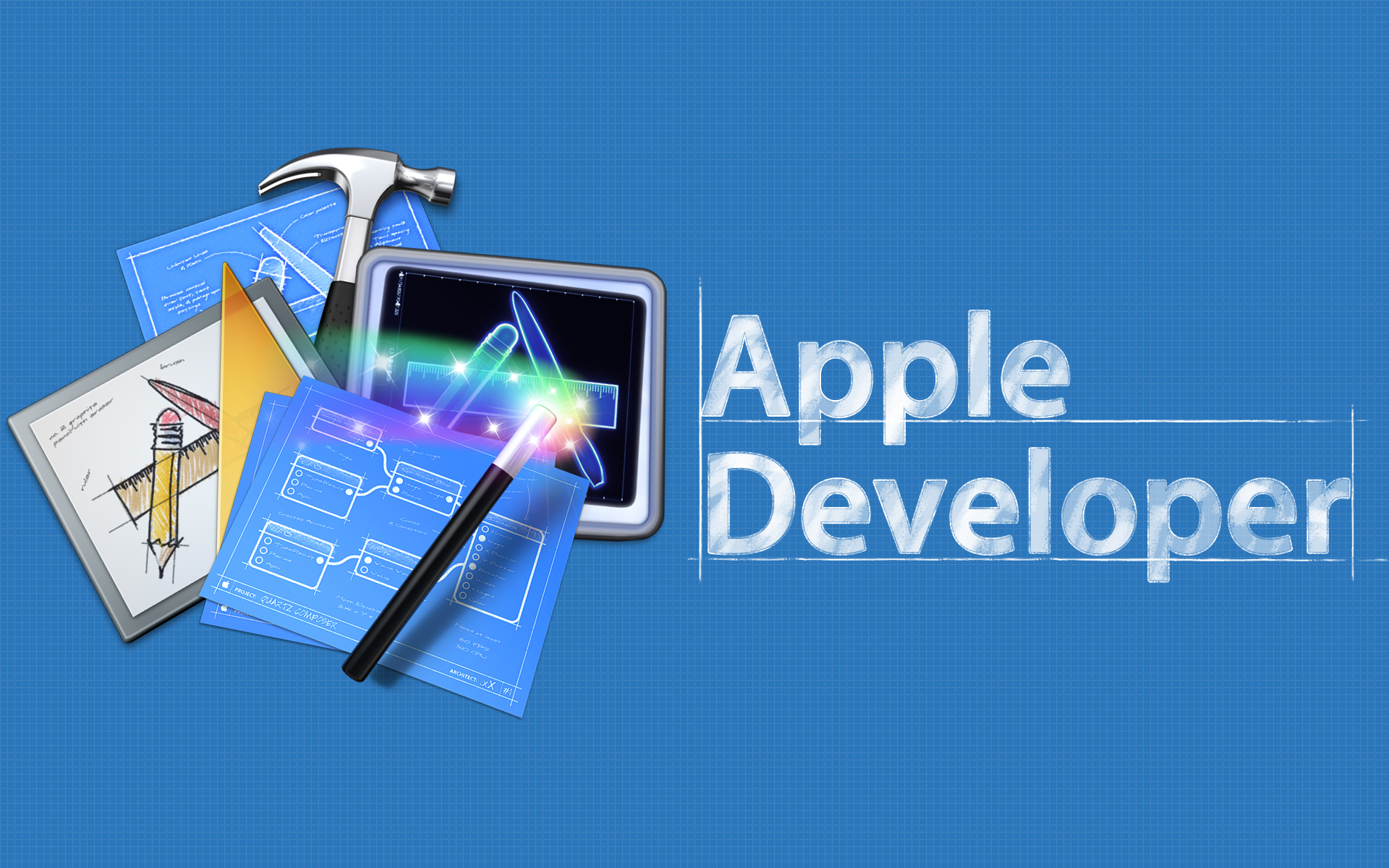 Apple Developer Wallpaper by Chuck67322 1920x1200