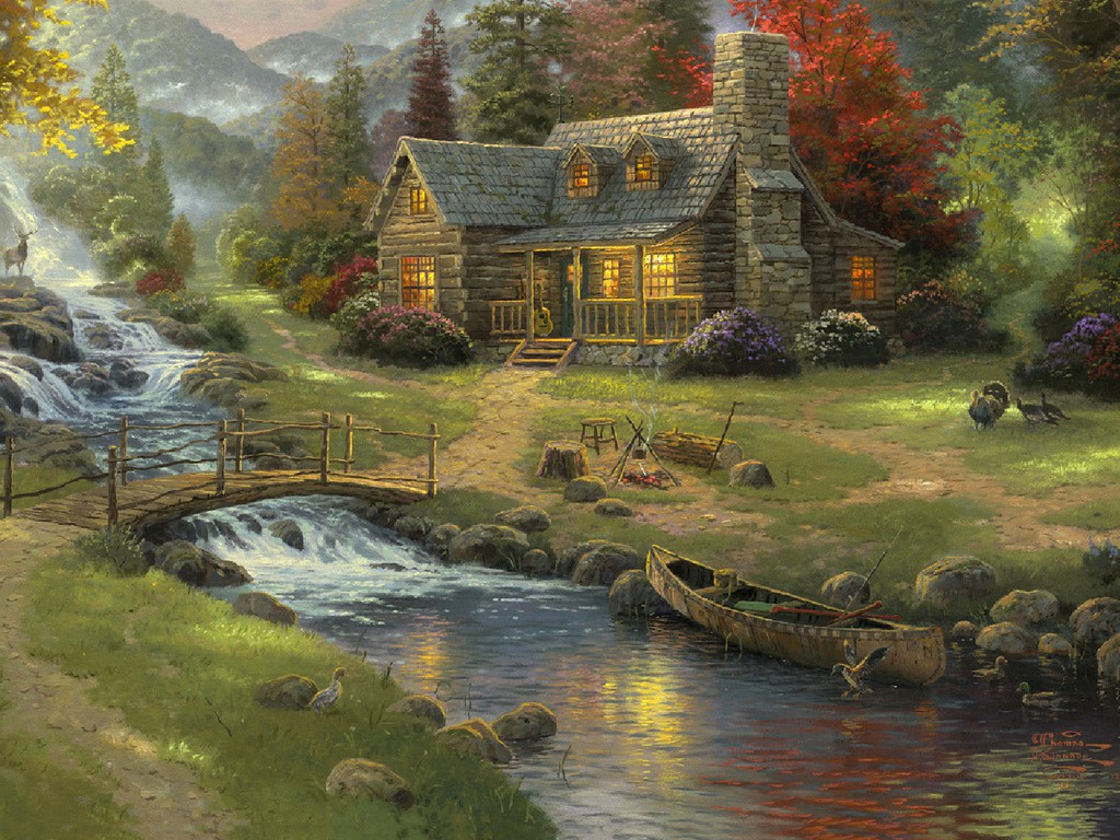 the country life Wallpaper 4661 Wallpaper high quality Backgrounds 1024x768