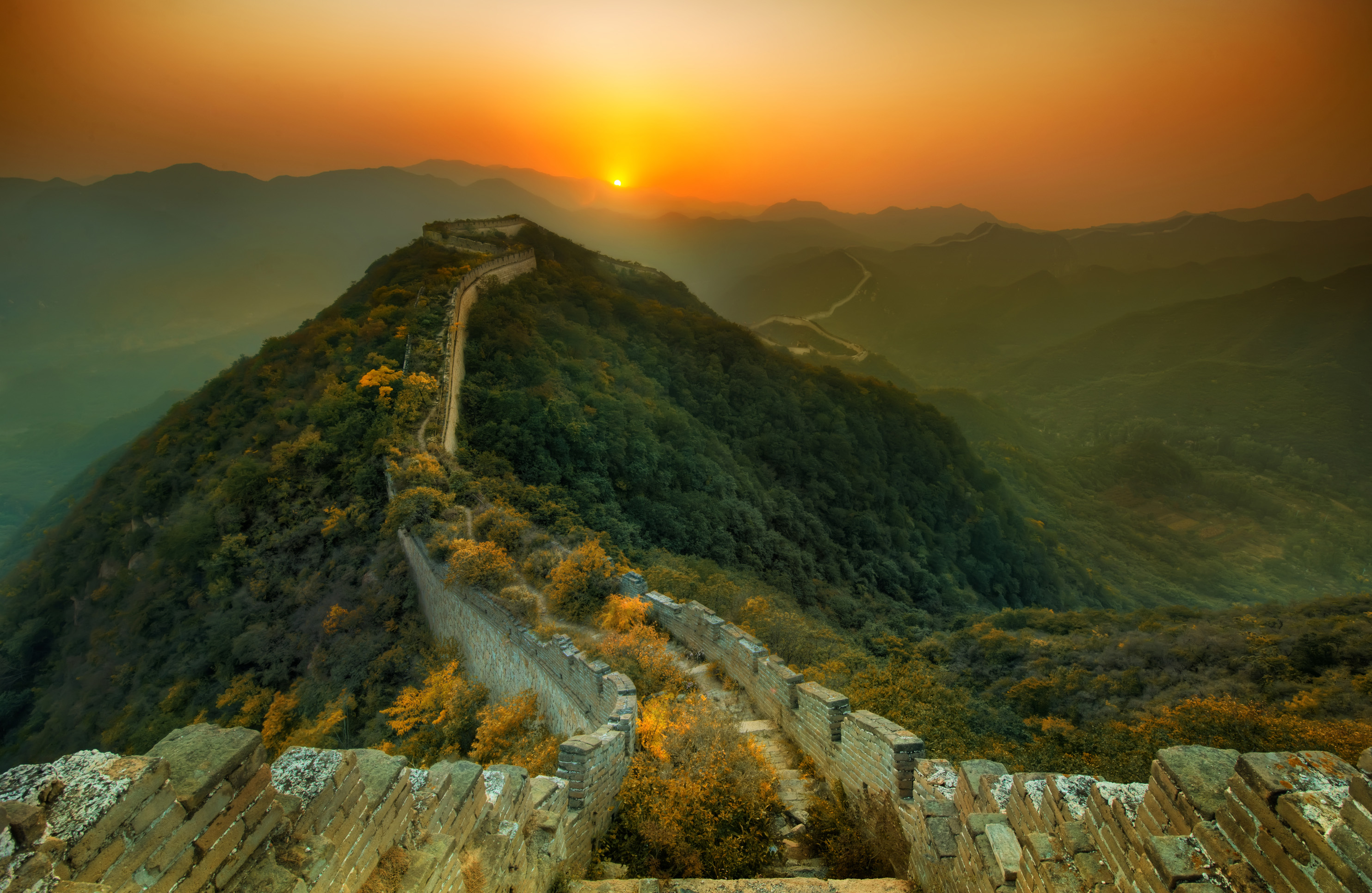 Daily Wallpaper The Great Wall of China I Like To Waste My Time 2967x1932