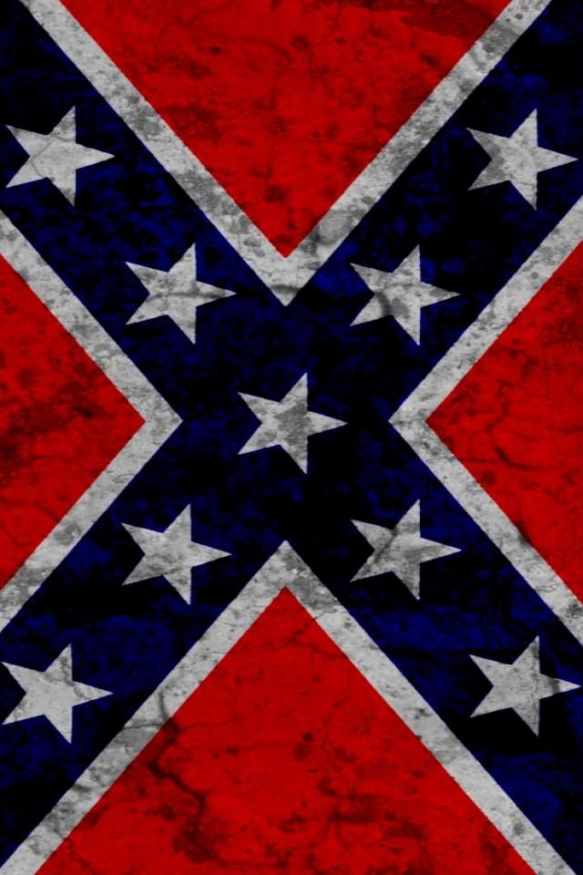 rebel flag iPhone wallpaper 640x960