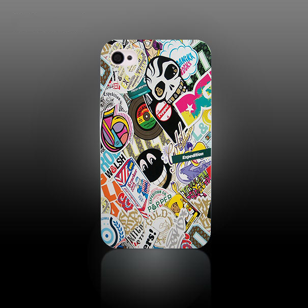 dgk wallpaper hd i6 Style Hard White case cover for iPhone 4 4s 4g 605x605