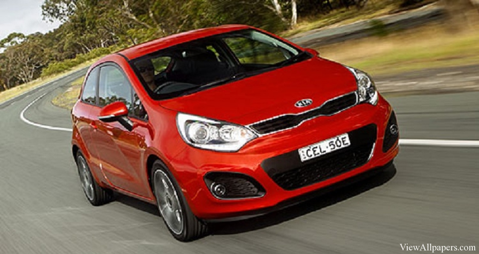 2016 Kia Rio High Resolution Wallpaper download 2016 Kia Rio 1600x851