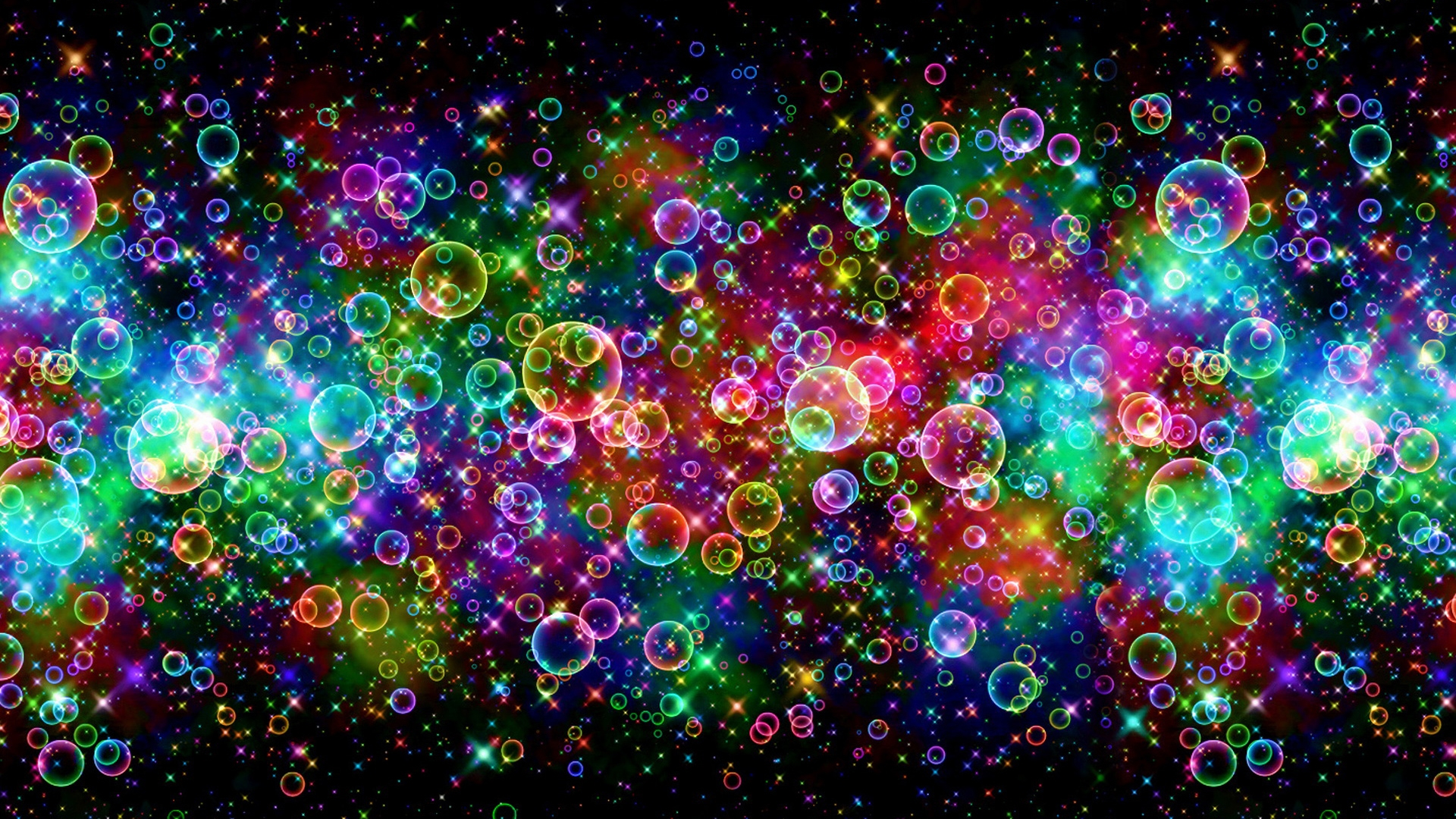 Colorful Bubbles 3D Wallpaper   HQ Wallpapers download 100 high 1920x1080