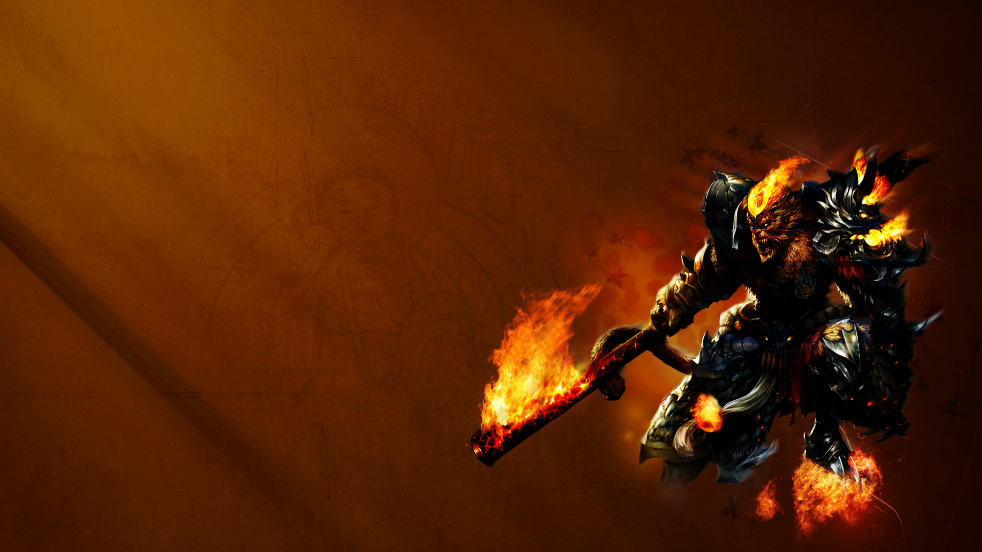 League of Legends Wukong Wallpaper by PinguAlex 1920x1080