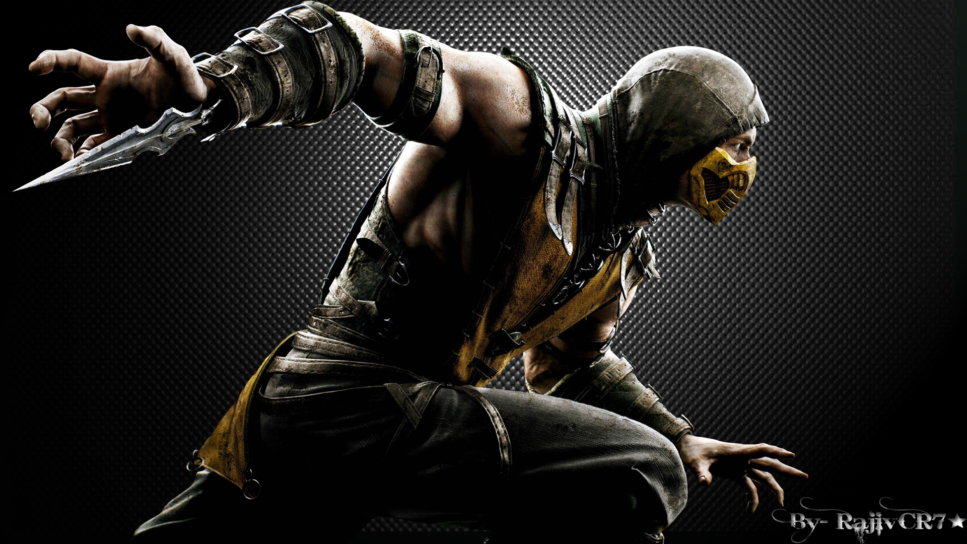 Mortal Kombat X HD Wallpaper 2 by RajivCR7 1920x1080