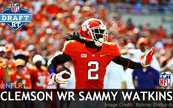 Sammy Watkins Iphone Wallpaper Clemson wr sammy watkins 607x379
