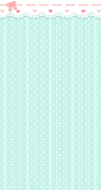 FREE Custom Box Background Aqua Polka Dots by Riftress 653x1224