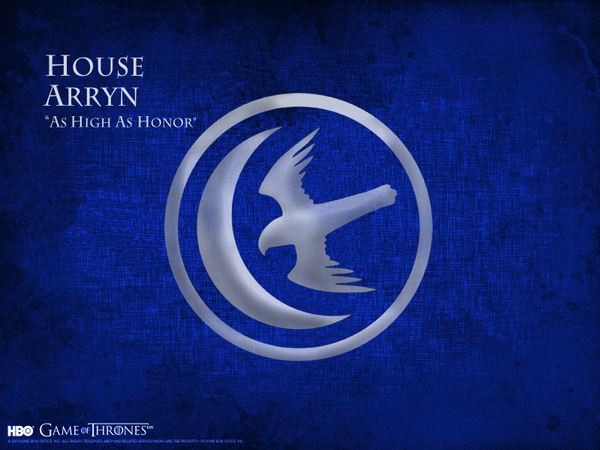 of thrones a song of ice and fire tv series hbo house arryn Wallpaper 600x450