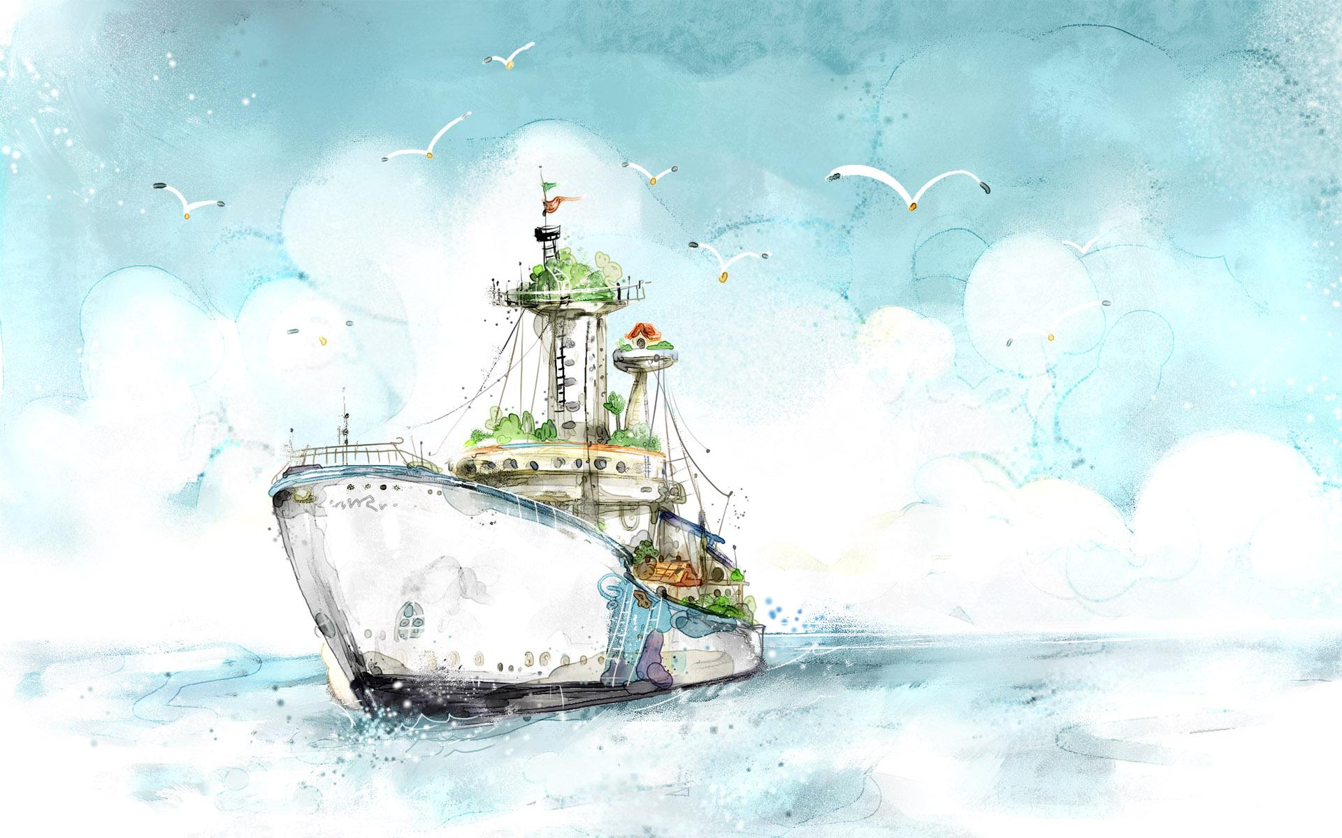 cute nautical desktop wallpaper - photo #33