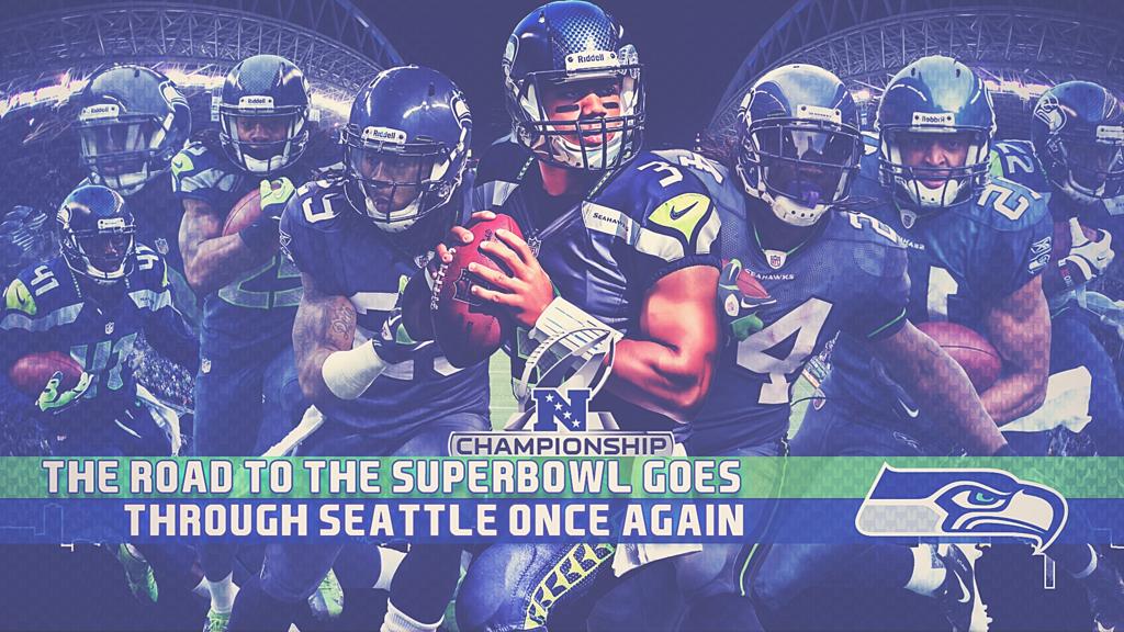 Seahawks Superbowl Road Wallpaper by Stealthy4u 1024x576