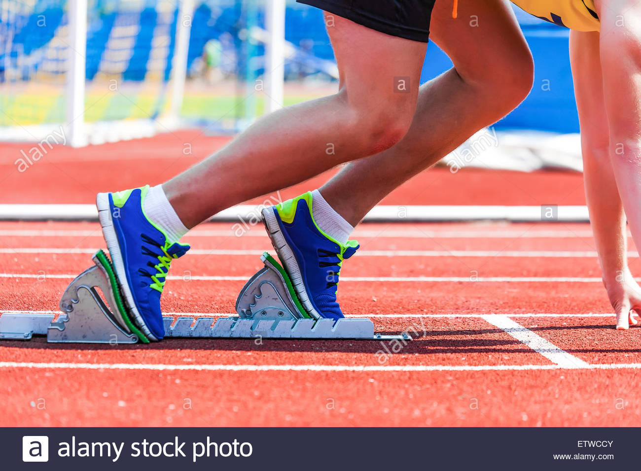 sportsman at the start sports background Stock Photo 84151787 1300x956