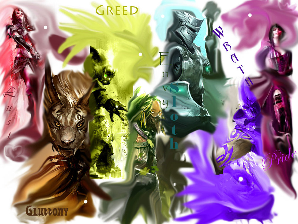 Seven Sins of Guild Wars 2 by Inaze 1032x774