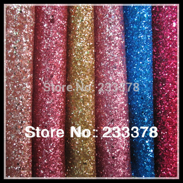 Quality Sparlky Chunky Glitter Leather Glitter Fabric For Wallpaper 600x600