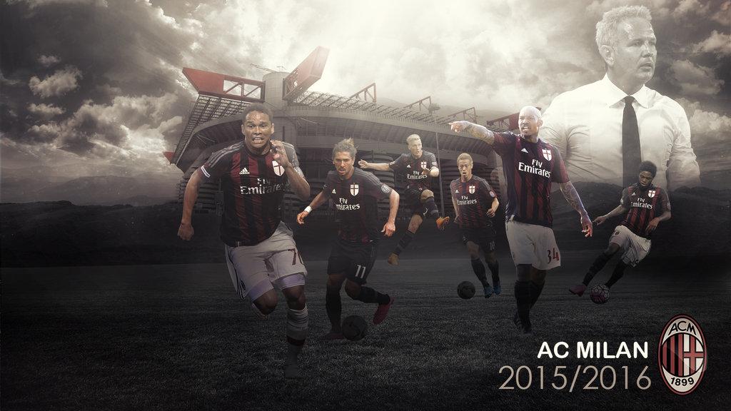 AC Milan 20152016 Wallpaper by RakaGFX 1024x576