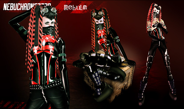 Cyber Goth Background 600x356
