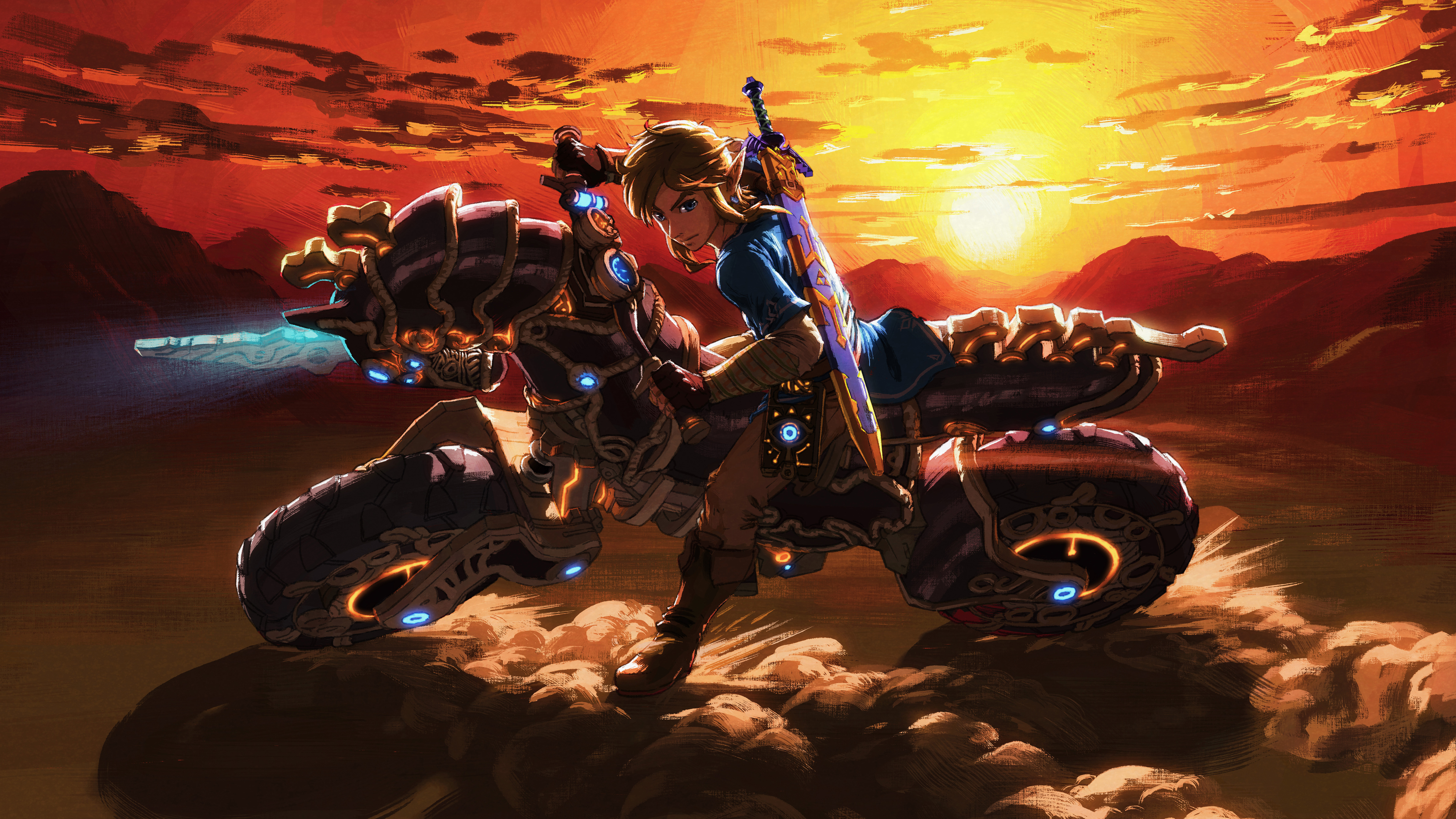 The Master Cycle Zero The Legend Of Zelda Breath Of The Wild 7680x4320