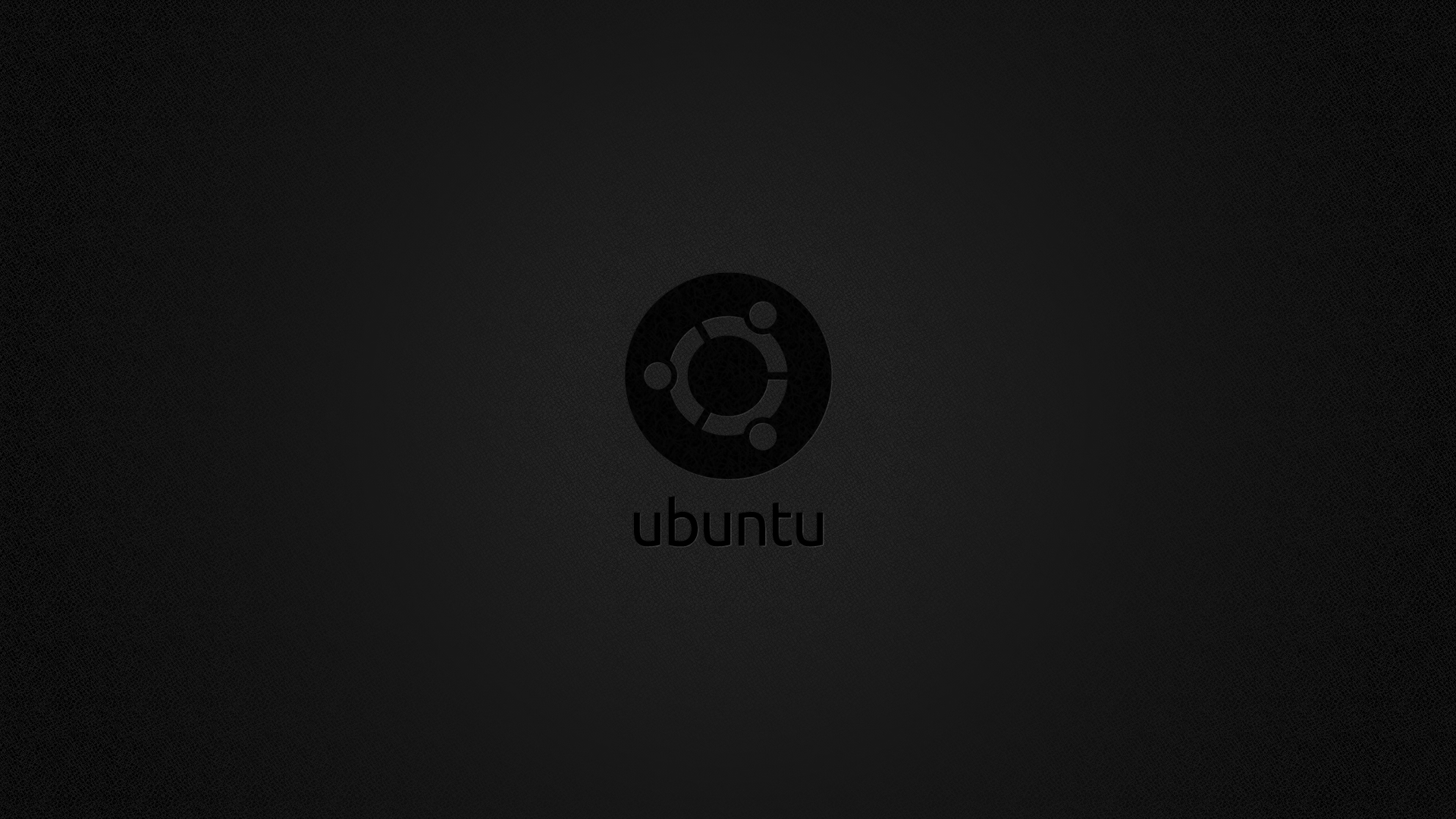 Ubuntu Dark Wallpaper - WallpaperSafari Ubuntu Logo Black