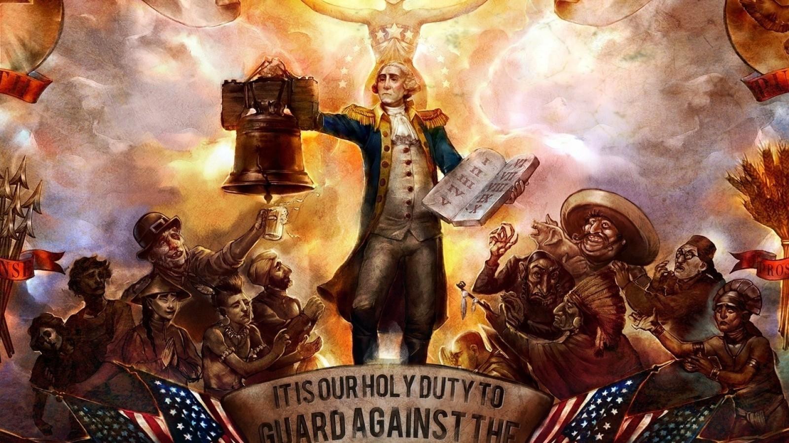 Religious Patriotic Wallpaper 1600x900