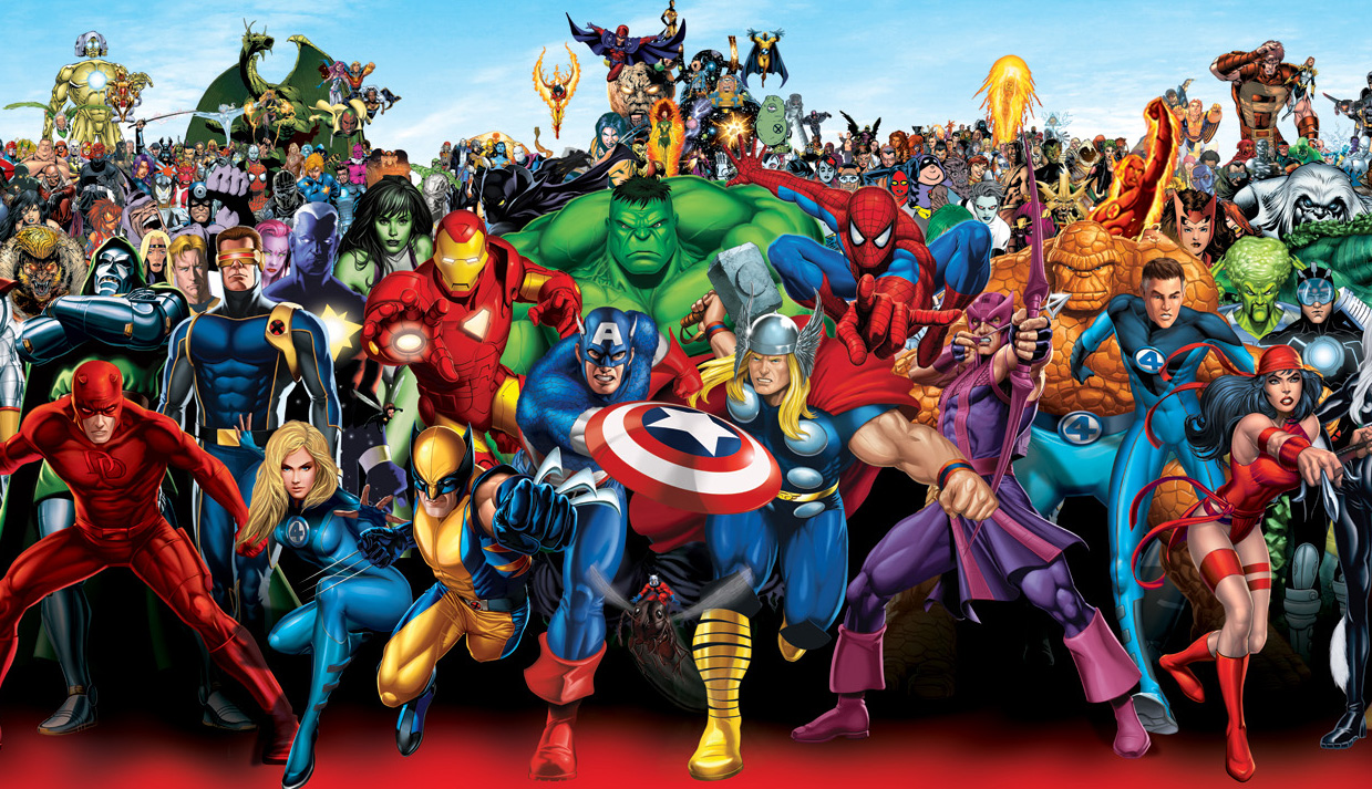 comics here now the coolest some are funny marvel universe wallpapers 1239x713