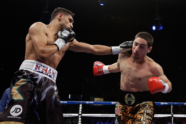 Amir Khan vs Danny Garcia 2012 New Sports Stars 594x397