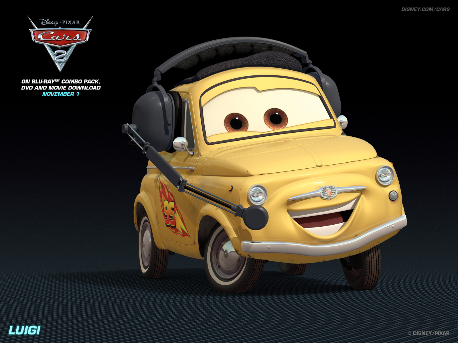 Luigi   Disney Pixar Cars 2 Wallpaper 28261258 1600x1200