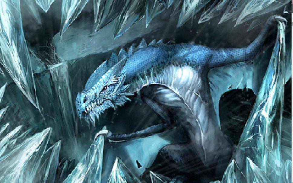 Ice Dragon wallpaper   ForWallpapercom 969x606