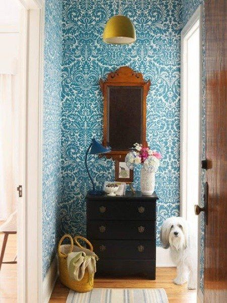 Affordable Decor Smart Ways to Use Wallpaper in Small Doses 450x600