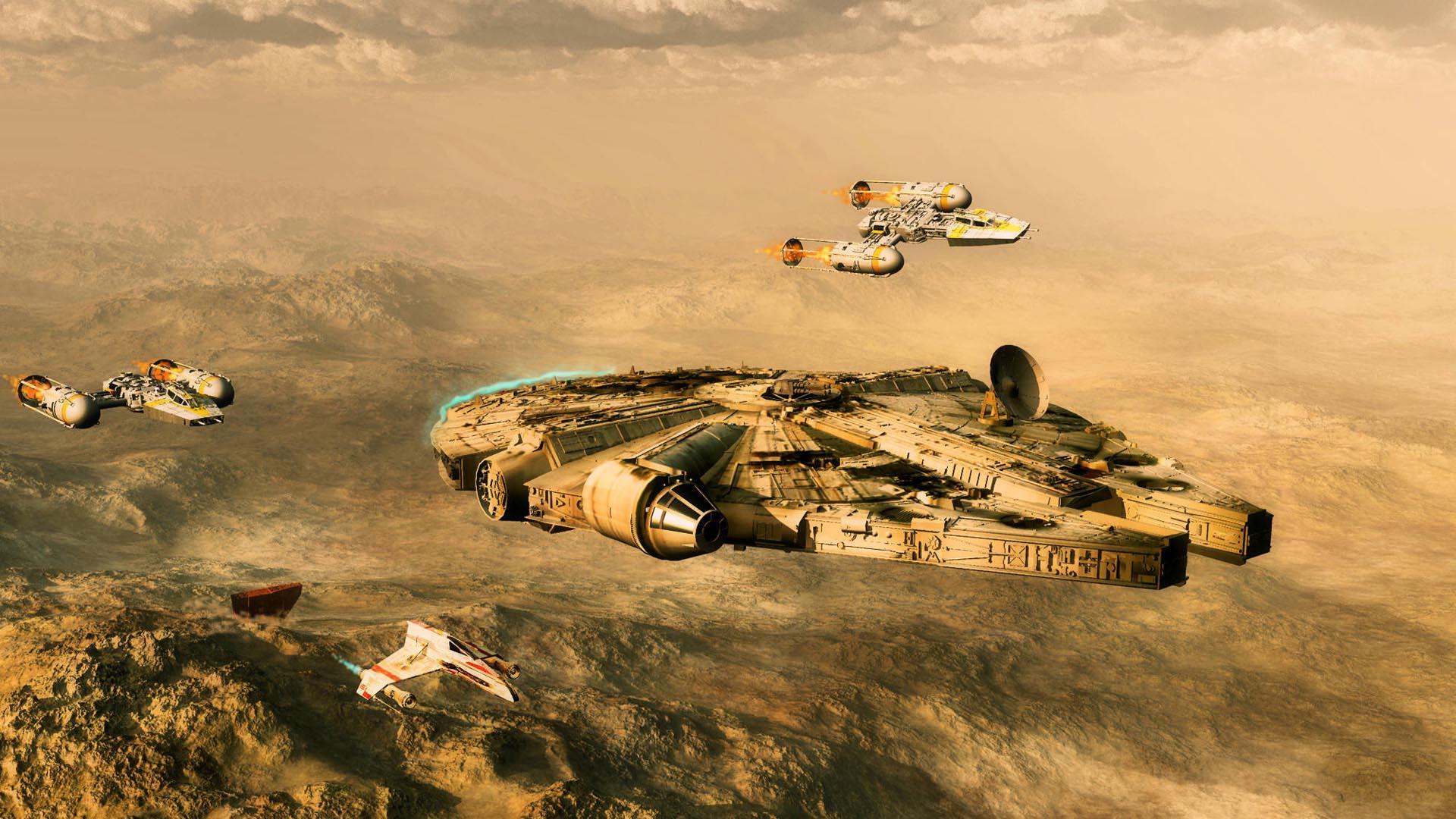 Star Wars Millenium Falcon wallpapers HD   469685 1920x1080