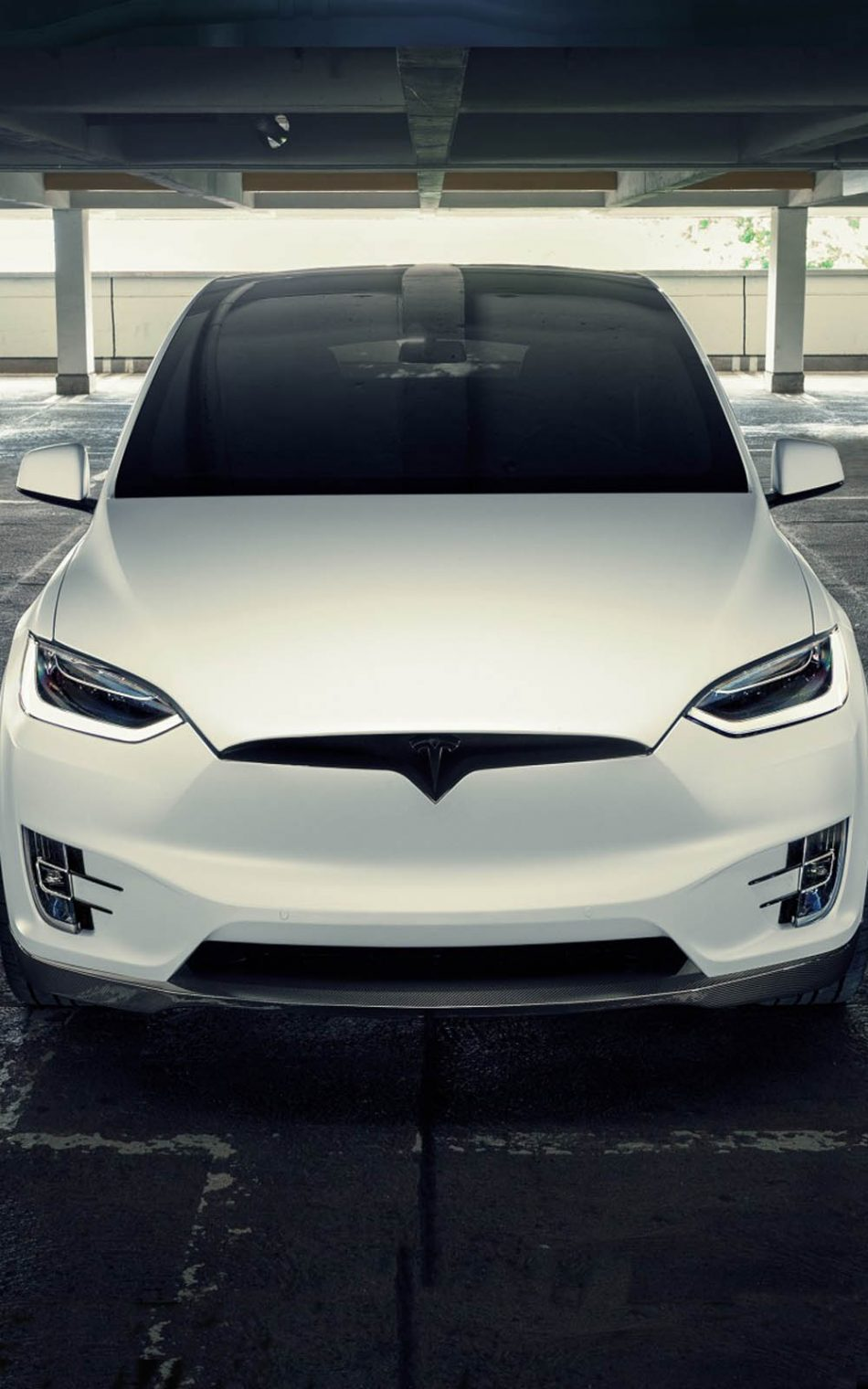 Download Novitec Tesla Model X 2017 Pure 4K Ultra HD Mobile 950x1520