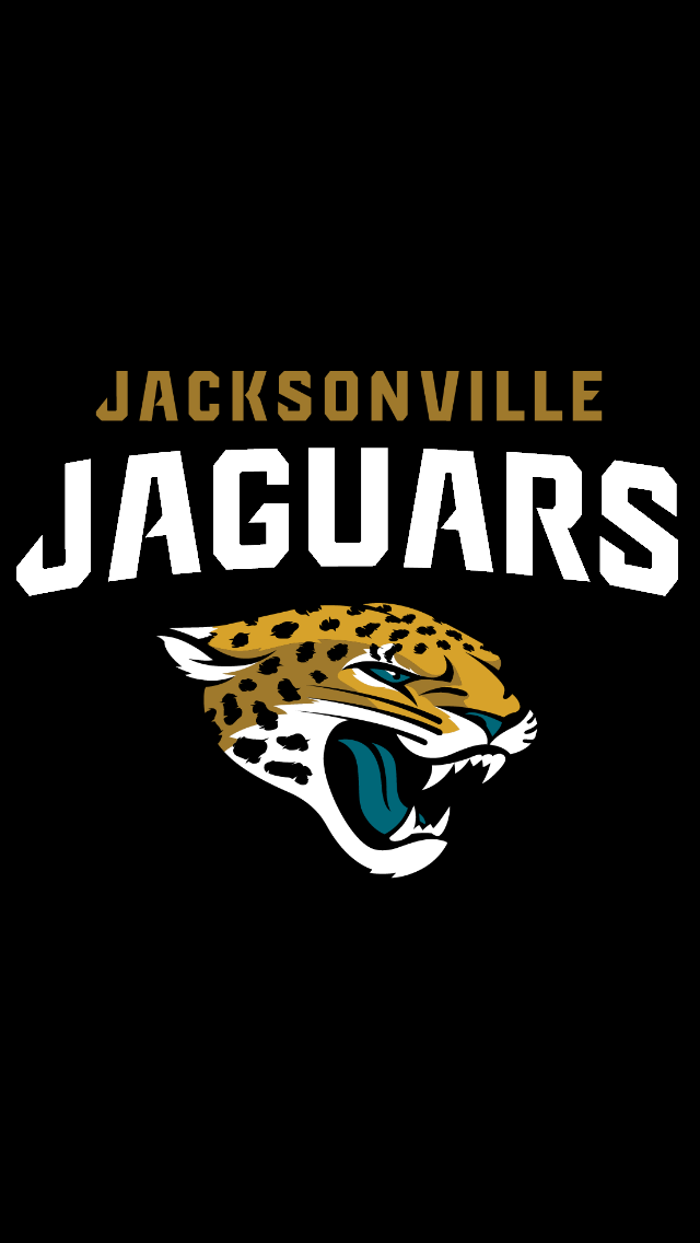 Jacksonville Jaguars New Logo Wallpaper Iphone backgrounds new logo 640x1136