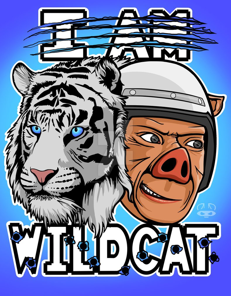 I AM WILDCAT by An0nym0useArt 790x1011