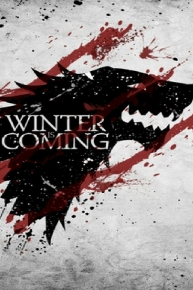 The North Remembers iPhone wallpaper 640x960