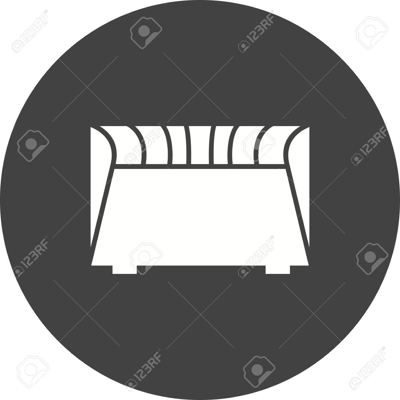 Heater Electric Convection In Black Circle On White Background 1300x1300