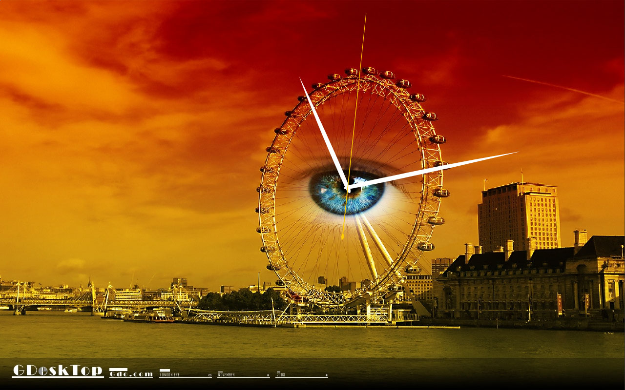 London Eye Wallpaper Hd 1280x800