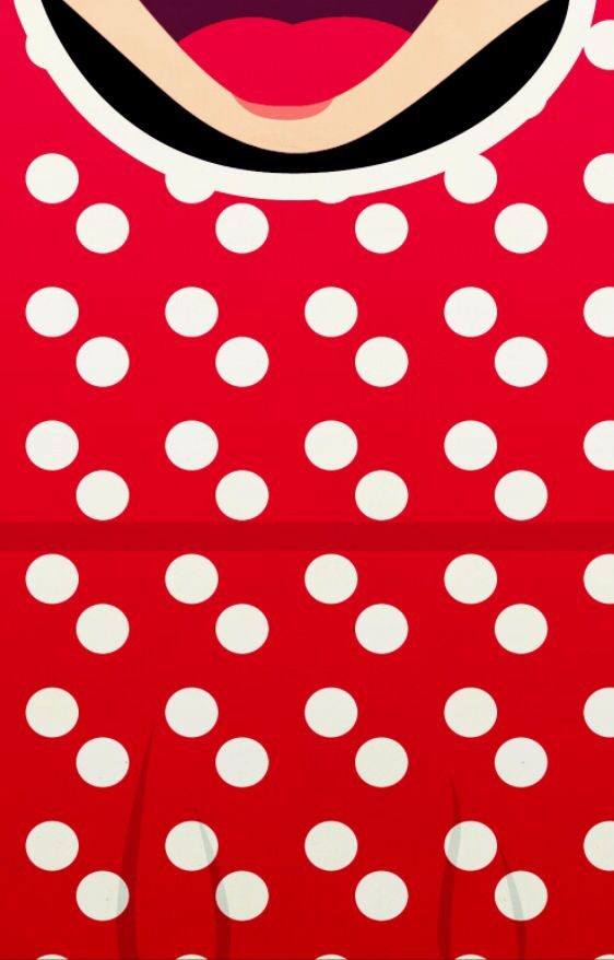 Minnie IPhone Background By PetiteTiaras Wallpaper Pintere 562x878