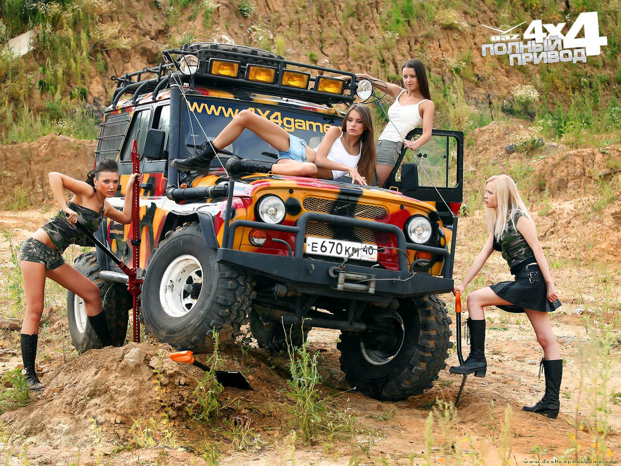 Off Road UAZ 4x4 Wallpaper by DesktopExtremecom   Wallpaper For Your 1280x960
