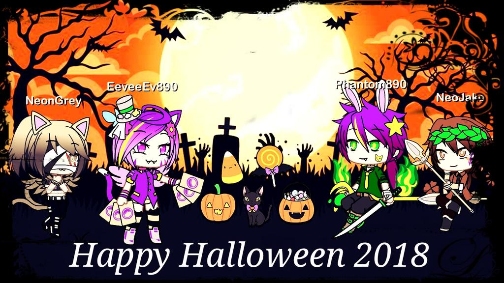 Gacha Life editHappy Halloween 2018 by Ev The Eevee 1024x576
