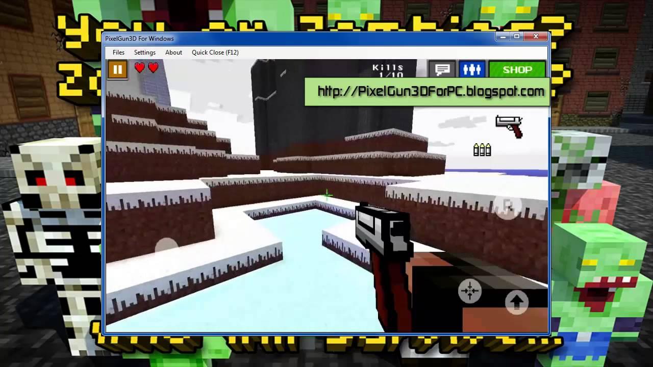 pixel gun 3d wallpaper wallpapersafari