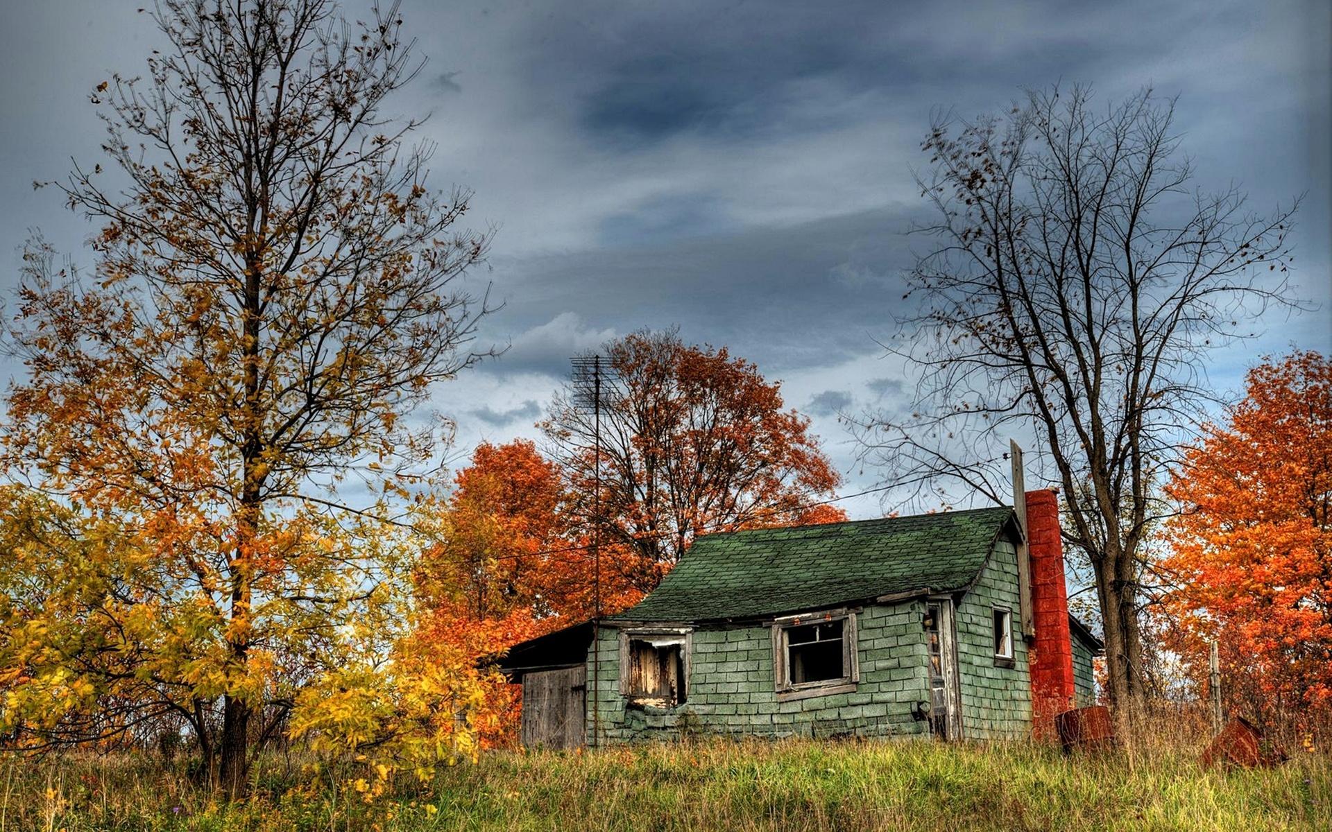 Download Abandoned cabin wallpaper 1920x1200