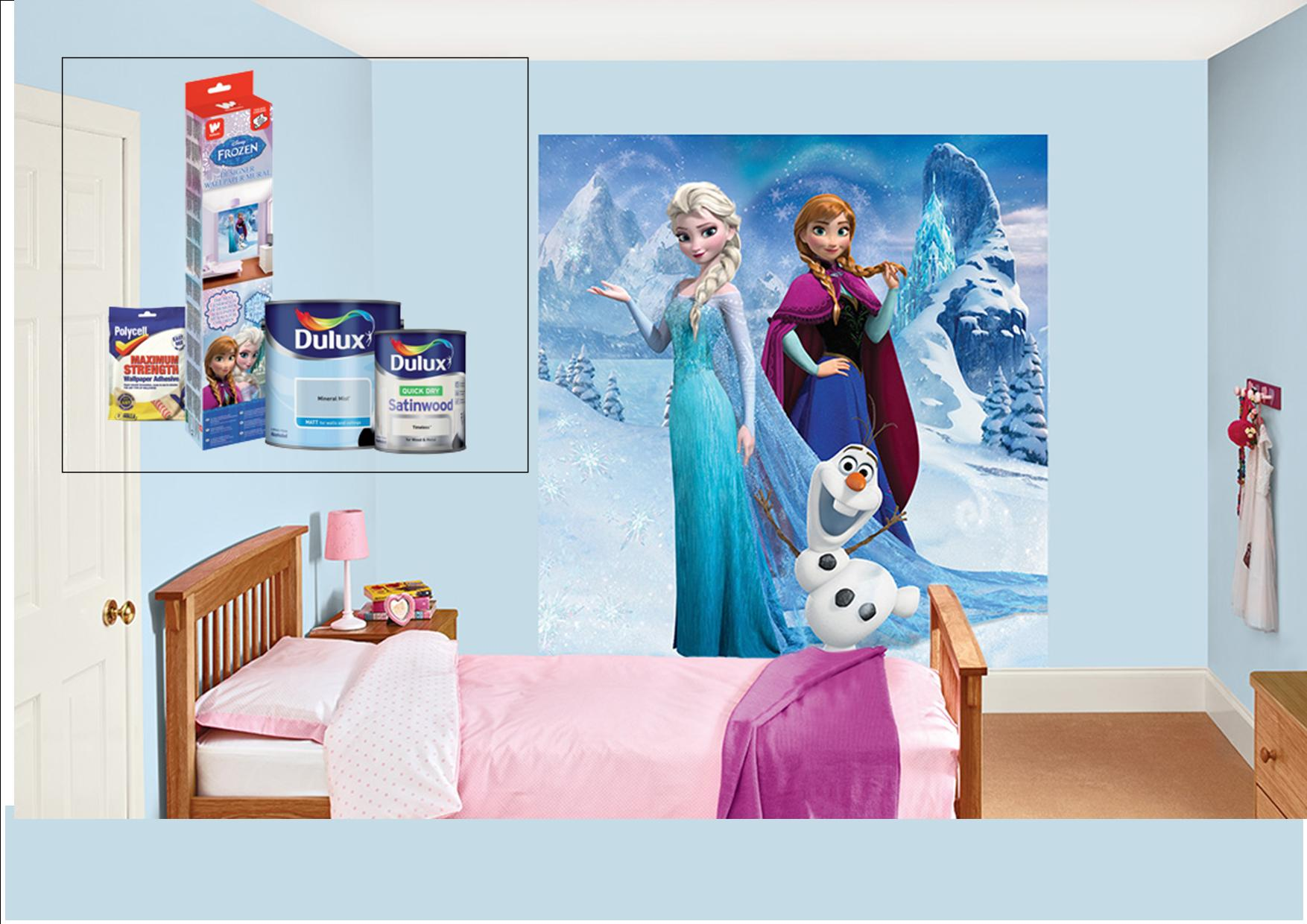 Dulux Avengers Bedroom In A Box: Dulux Wallpaper Canada