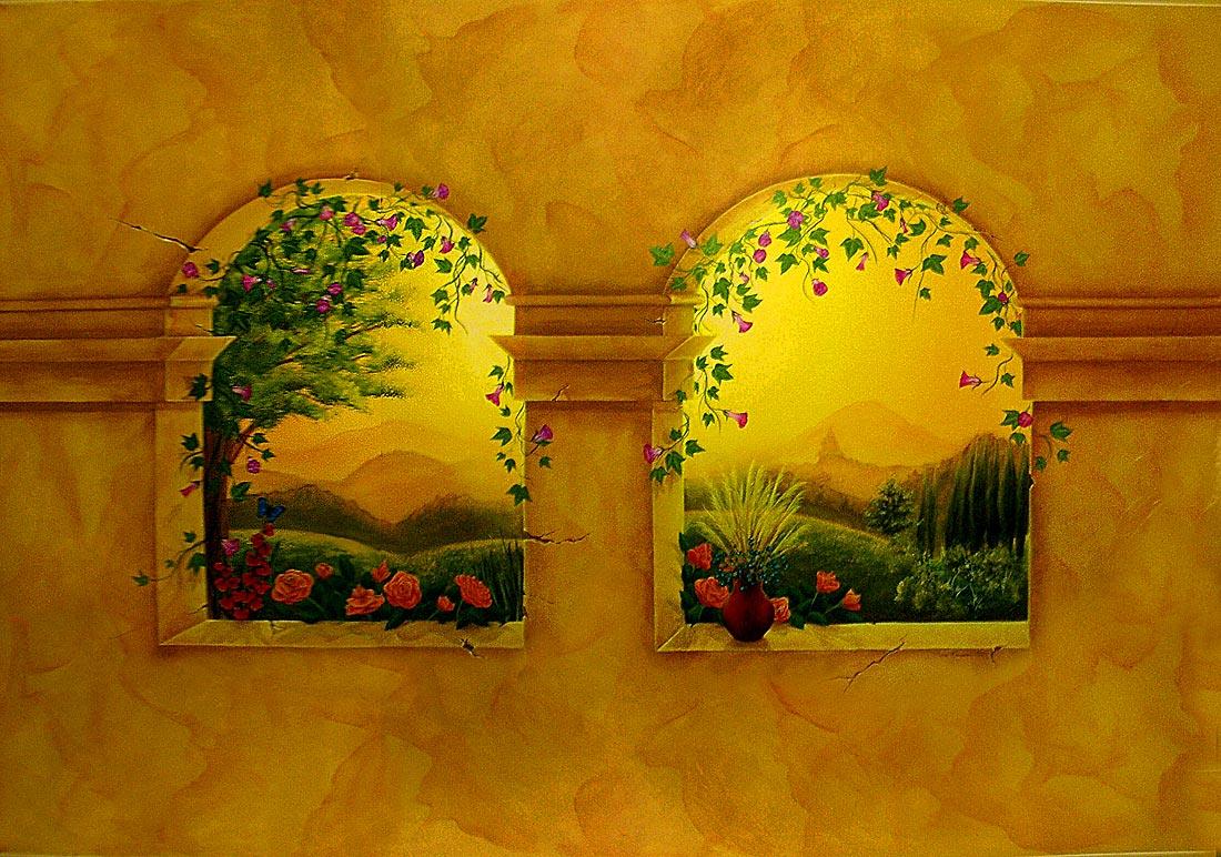 httpbesthomedecoratorscomtuscantuscan kitchen tile muralhtml 1100x772