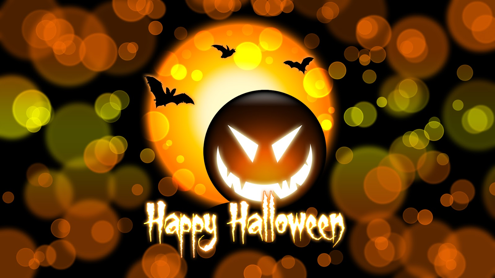 Happy Halloween wishescards animations greetings emotions 1600x900