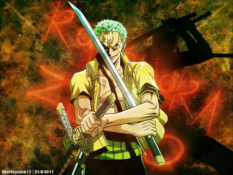 one piece anime roronoa zoro 1280x960 wallpaper Anime 800x600