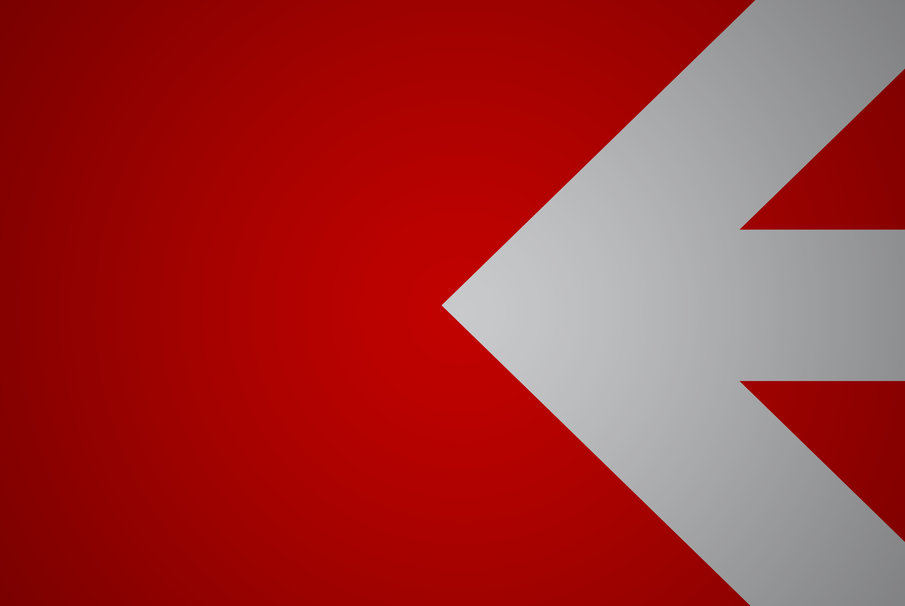 White Arrow Image White Arrow on Red Wallpaper 905x606