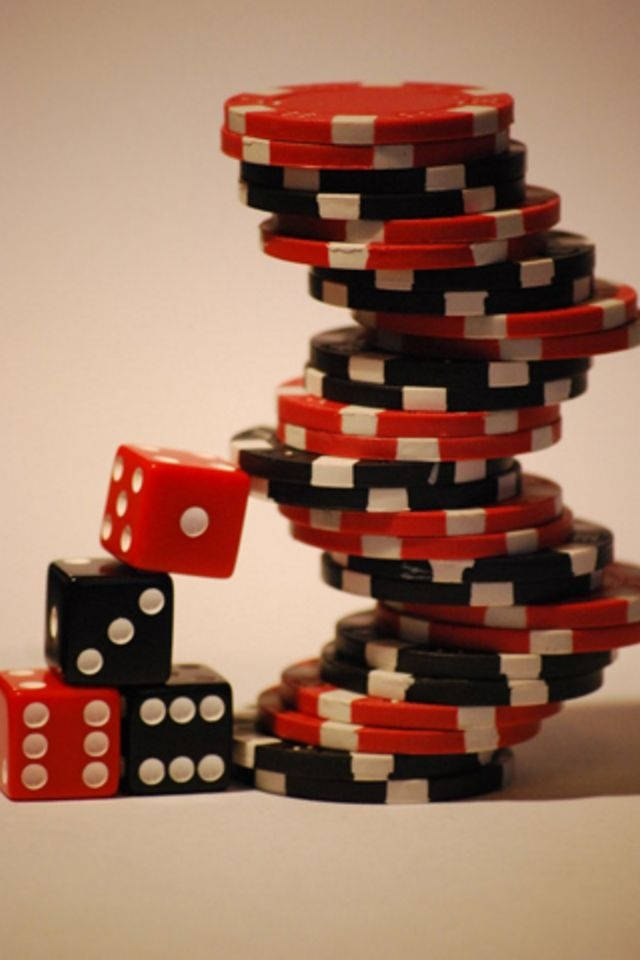 Poker Chips iPhone 4 Wallpaper and iPhone 4S Wallpaper 640x960