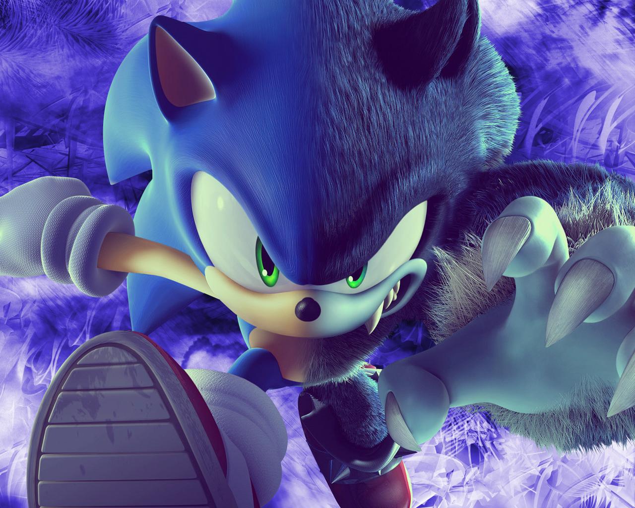 Sonic the Werehog Wallpaper - WallpaperSafari  Sonic